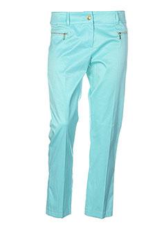 absolu pantalons femme de couleur vert