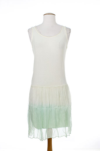 nana nucci robes femme de couleur vert