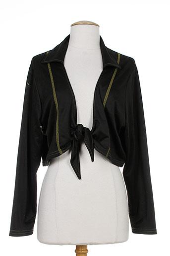 deomino vestes femme de couleur noir