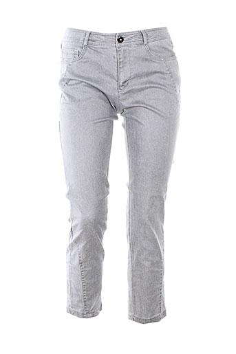 so soon pantalons femme de couleur gris