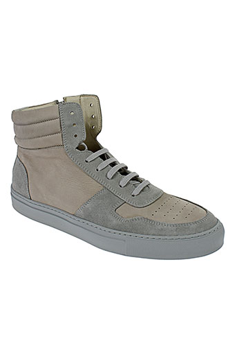 national et standard baskets homme de couleur gris