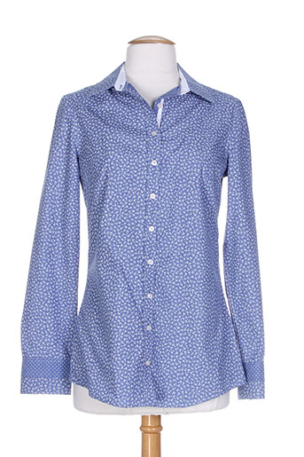 bariloche chemises femme de couleur bleu