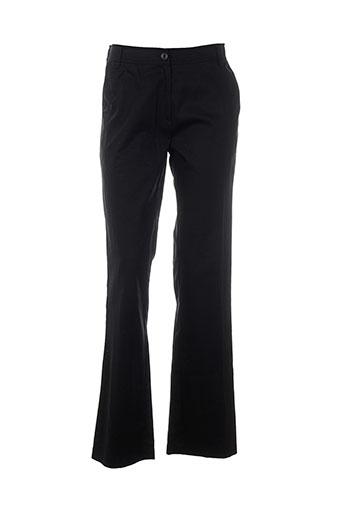 canasport pantalons femme de couleur noir