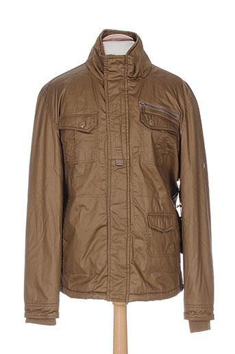 seaport vestes homme de couleur marron