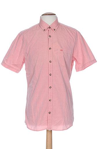 camel active chemises homme de couleur rose