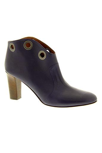 avril et gau boots femme de couleur violet