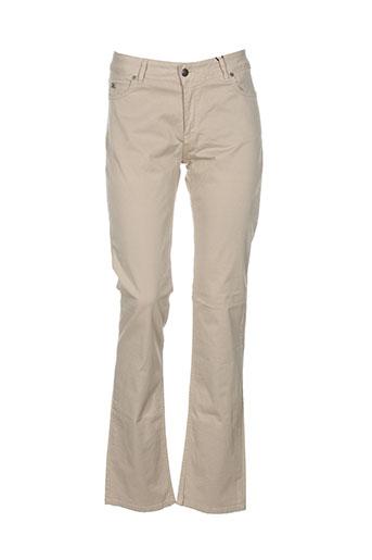 scapa pantalons femme de couleur beige