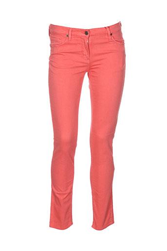 scapa pantalons femme de couleur orange