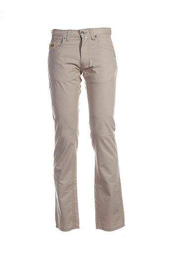 la et martina pantalons et decontractes homme de couleur beige