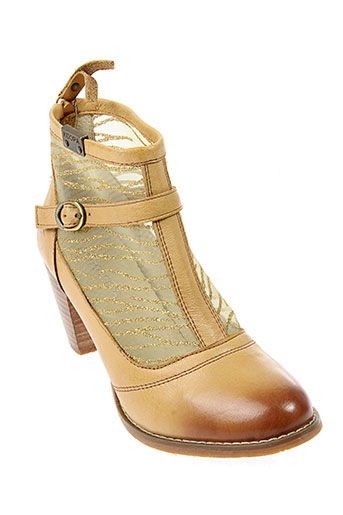 kdopa boots femme de couleur beige