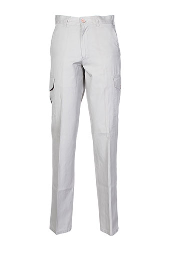 canaletto pantalons homme de couleur gris