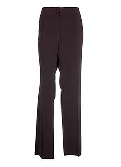Pantalon chic marron BTF pour femme