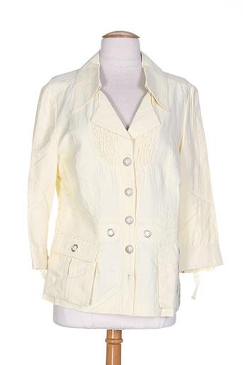 my way vestes femme de couleur jaune