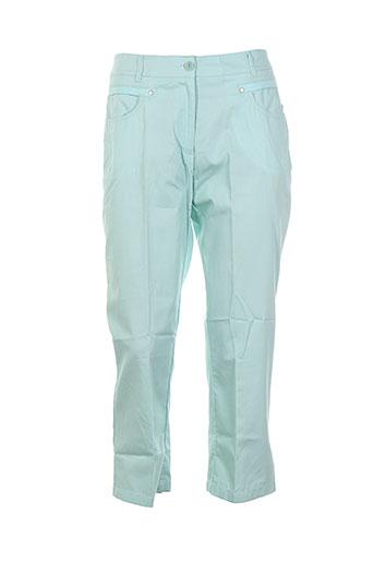 canasport pantalons femme de couleur bleu