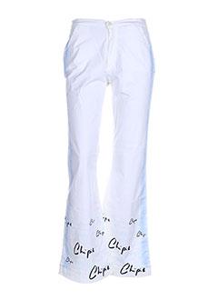 Pantalon casual blanc CHIPIE pour fille