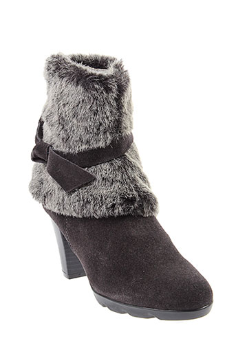 madison bottines femme de couleur gris