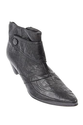 elantine boots femme de couleur noir