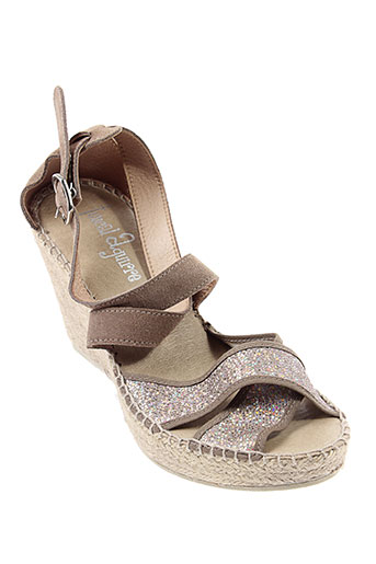 juncal et aguirre sandales et nu et pieds femme de couleur beige