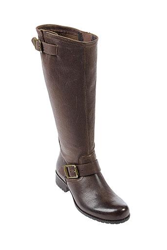 axell bottes femme de couleur marron