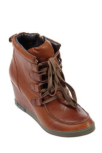 un matin d'ete chaussures femme de couleur marron