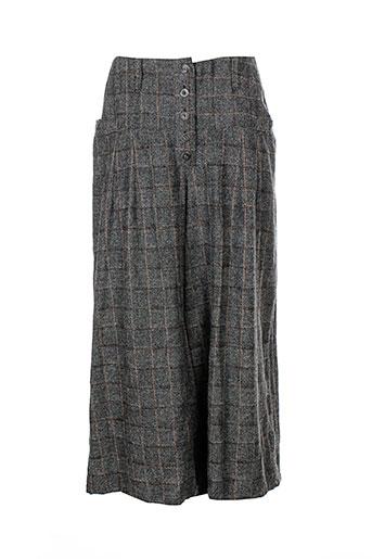 aurea et vita pantalons et decontractes femme de couleur gris