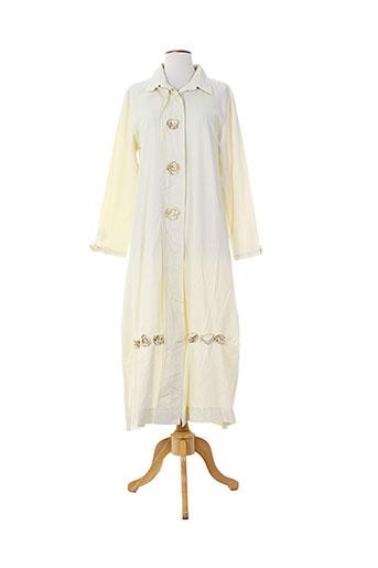 lauren vidal vestes femme de couleur blanc