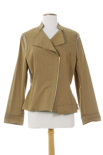 garella vestes femme de couleur marron