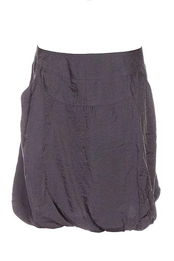 3322 jupes femme de couleur gris