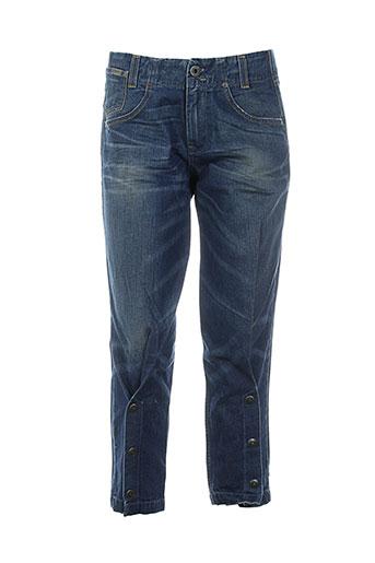 55 et dsl jeans et coupe et slim femme de couleur bleu