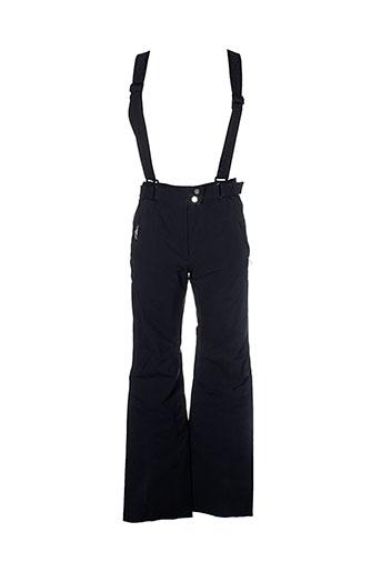 goldwin pantalons femme de couleur noir