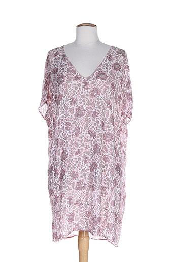 ambre babzoe robes femme de couleur rose