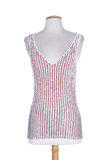 ambre babzoe chemises femme de couleur blanc