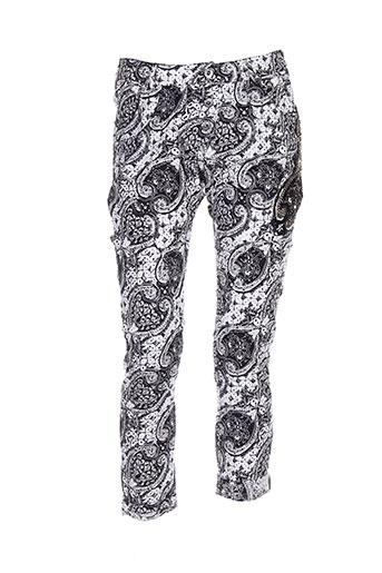 ambre babzoe pantalons femme de couleur gris