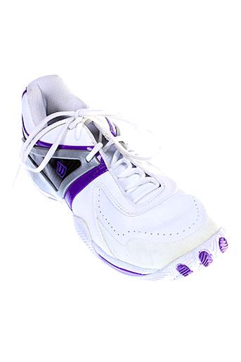 wilson baskets femme de couleur blanc