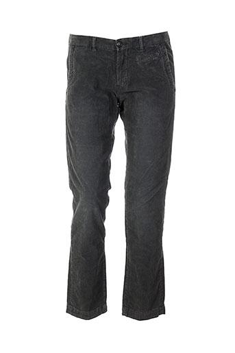 monocrom pantalons femme de couleur gris