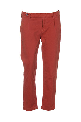 true et nyc pantalons et citadins homme de couleur orange