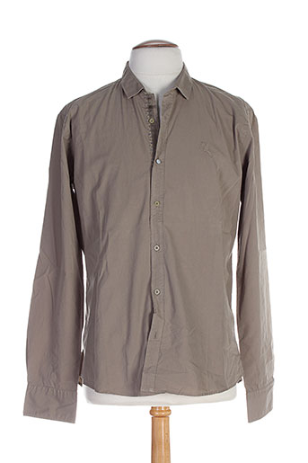 edween pearson chemises homme de couleur vert