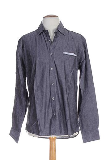edween pearson chemises homme de couleur gris