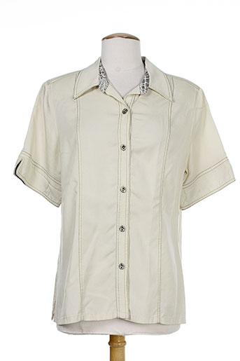 b de brel chemises femme de couleur gris