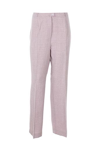weinberg pantalons femme de couleur violet