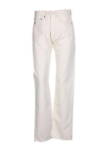 Jeans coupe droite beige CHEYENNE pour femme