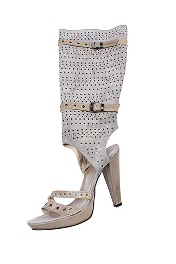 v m chaussures femme de couleur gris