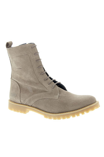 shoot bottines femme de couleur beige
