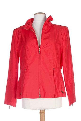 basler manteaux femme de couleur rouge