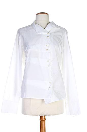 bleu blanc rouge chemises femme de couleur beige