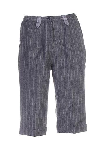 francoise f shorts / bermudas femme de couleur gris