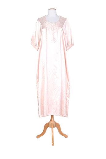 altesse chemises et de et nuit femme de couleur rose (photo)
