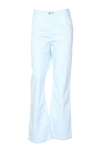 votre nom pantalons femme de couleur bleu