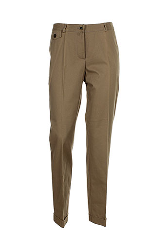 mafecco pantalons et citadins femme de couleur marron