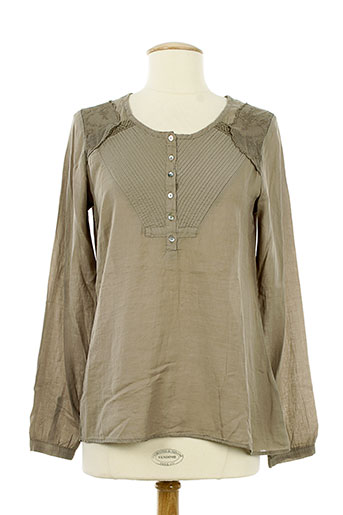 bella jones t-shirts / tops femme de couleur marron